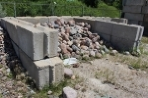 Concrete Bin Blocks/Landscape Stone Inventory