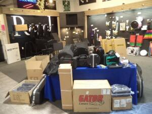 Music Retail Store Auction