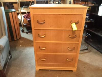 4-Drawer Wood Dresser