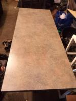 2' x 5' Laminate Top Table with Double Pedestal