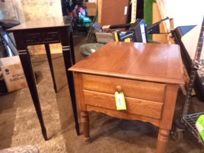 (2) End Tables