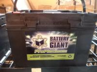 Auto Battery, 550 CCA, (NEW)
