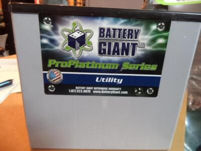 Utility Battery, 55AH, 85RC, 22NF-AGM (NEW)