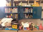 Lot of Fluids & Filters to Include 5W30 Motor Oil, HD Synthetic Machine Grease, AMS Oil,