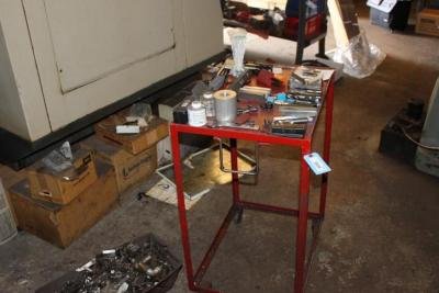Work Cart with Cutters & Steel REMS