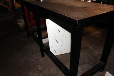 (2) Steel Base Workbenches with Contents of Reamers, Drills,