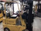 "Hyster 50C LP Gas Forklift, 5,000# Capacity, 187"" Lift,"