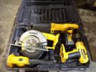 Case of Dewalt Power Tools