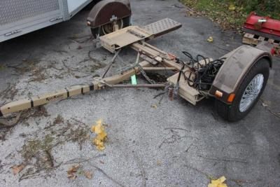 Demco Kar Kaddy Tow Dolly with Basket Straps and Light Bar, 3,500# GVWR