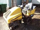Wacker RD11V Pro Vibratory Compactor, SN: 5092368, Double Drums,