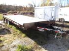 2016 TOWMASTER T-20 Tandem Axle Deck-Over Equipment Trailer, VIN: 4KNFT2026HL160884,