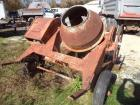 Gilson Morsped 3 1/2 T Pull Type Mortar Mixer,