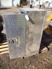 Weather Guard 4' W Diamond Plate Toolbox