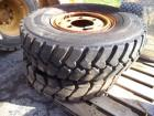 (2) Used Tires with Rims