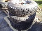 (4) Used Tires, Some with Rims