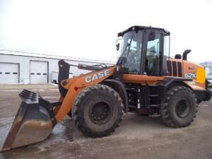 2019 Case Wheel Loader, SN: JEEN0621EJF246424, 139 Operating Hours Reported