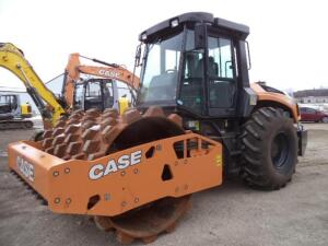 2019 Case SV212D Sheeps Foot Compactor, SN: DDDS212DNJWTB3172, 45 Operating Hours Reported