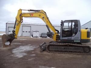 2019 Wacker ET145 Mini Excavator, SN: WNCE1102LPAL00542, 232 Operating Hours Reported