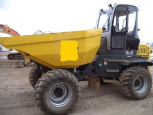 2017 Wacker DW90 Compact Dumper, SN: WNCD1802CPAL00718, 545 Operating Hours Reported