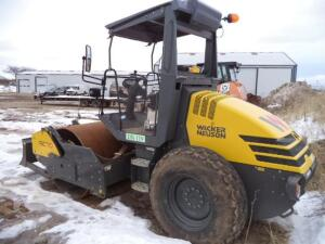 "2019 Wacker RC70 Single Drum Soil Compactor, SN: WNCR0801THAA00277, 66"" Drum Width,"