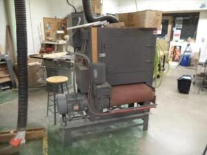 "22"" Wide Belt Sander, Single Head, 7.5 HP, 3-Phase, ( Data Plate Missing)"