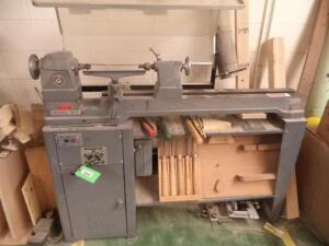 "Rockwell Delta Wood Lathe, 12"" Swing, 36"" cc, 3-Phase, with Tools"