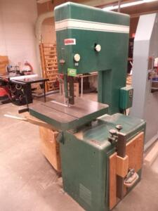 "Powermatic 81 Vertical Band Saw, 20"" Throat, 24"" x 24"" Table, 3-Phase"