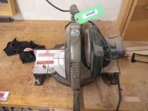 Miter Saw, Single Phase, (DATA PLATE MISSING)
