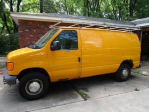 Ford E-350 Cargo Van, VIN: 1FTSE34L96HB25783, Automatic, Gas Engine, 146,500 Miles Reported,