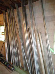 Lot of Steel Conduit
