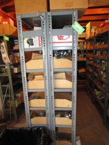 "(6) Metal Shelving Units (EMPTY), 75""H x 3'W x 12"""