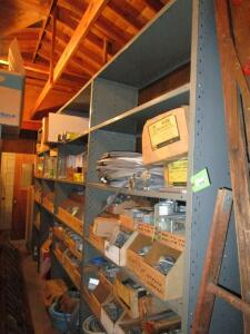 "(4) 8'H x 4'W x 18""D Continuous Shelving Units (EMPTY)"