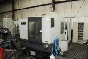 "Kasahara KHM-410 Machining Center, Asset #114, 24"" -X, 20""-Y, and 20""-Z Axis Travel, 6,000 rpm,"