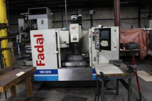 Fadal VMC3016HT 904-1 Machining Center, SN: 012000020208, 4th Axis, 10,000 rpm,
