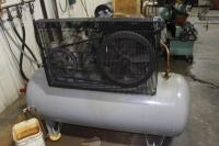 Ingersoll-Rand T30 Horizontal Tank Mounted Reciprocating Air Compressor, SN: 6041775, 7.5HP - 5