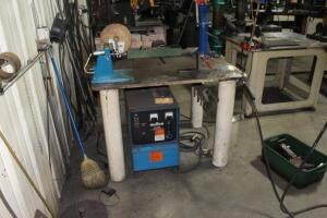 Miller CP300 Welder, SN: JG003721 with 1,000# Engine Hoist Arm,