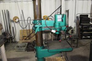 "Arboga ER-825 24"" Arm x 9"" Column Radial Arm Drill, SN: 247617"