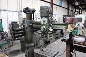 "Summit 3' Arm x 8"" Column Radial Arm Drill"