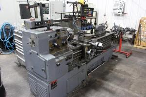 "1994 Hwacheon HL160 11"" Swing x 60"" Between Centers Lathe, SN: 222889, w/Newall DP7 2-Axis DRO"