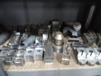 Metal Shelf with Contents of Tooling & Jaws - 6