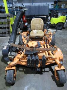 "Scag Turf Tiger Commercial Zero Turn Mower w/ Velocity Plus 61"" Deck, w/ Grass Catcher, 1,627 Hours"