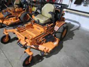 "Scag Turf Tiger II Commercial Zero Turn Mower w/ Velocity Plus 61"" Deck, 1,173 Hours"