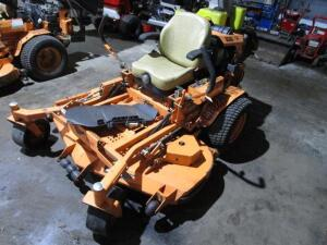 "Scag Turf Tiger Commercial Zero Turn Mower w/ Velocity Plus 61"" Deck, NO GRASS CATCHER, 382 Hours"