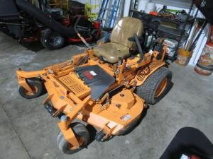 "Scag Turf Tiger Commercial Zero Turn Mower w/ Velocity Plus 61"" Deck, NO GRASS CATCHER, 503 Hours"