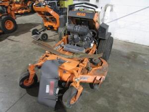 "Scag V-Ride II Stand-Up Commercial Mower w/ Velocity Plus 52"" Deck, 1,125 Hours"