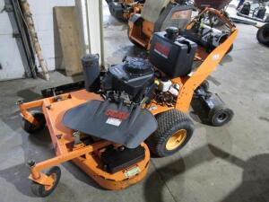"Scag RD614 Stand-Up Commercial Mower w/ 48"" Deck, w/ Jungle Wheels, 671 Hours"
