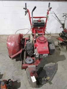 Turf TEQ Walk Behind Trencher w/ Honda Engine