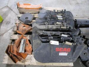 Skid of Scag Parts