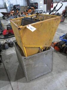 Steel Grass Catcher Attachments