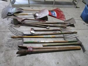 Lot of Landscape Hand Tools